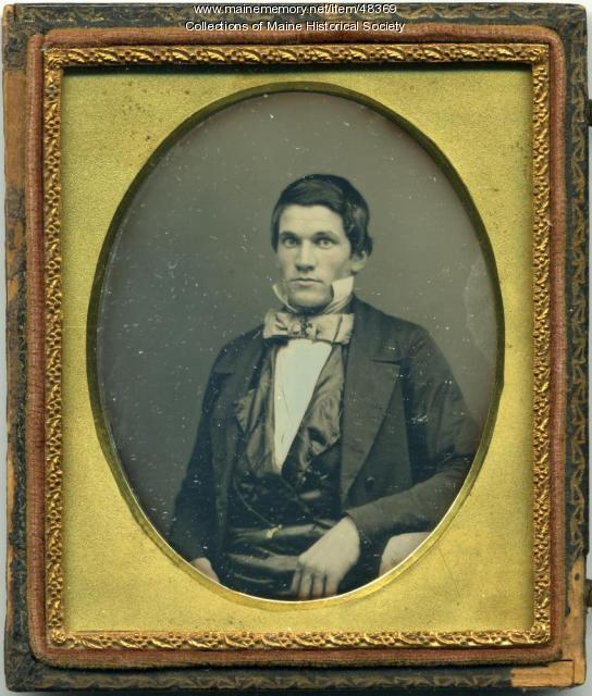Daguerreotype of Mr. Bass, ca. 1845