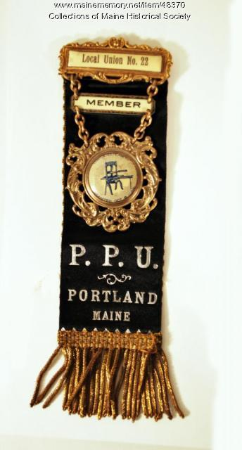 Printers' Union badge, ca. 1900