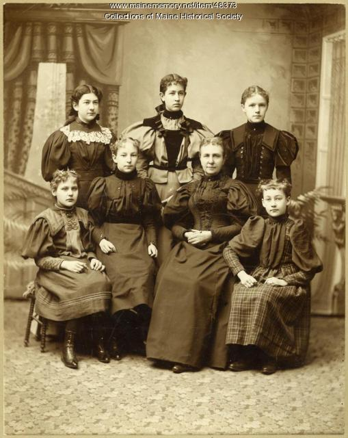 Ethel Mae Colby, ca. 1895