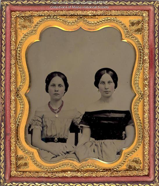 Unidentified women, ca. 1860