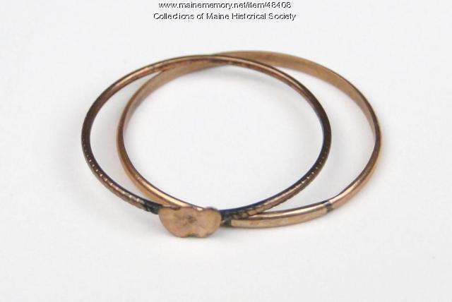 Molly Finney McLellan rings, Portland, ca. 1750