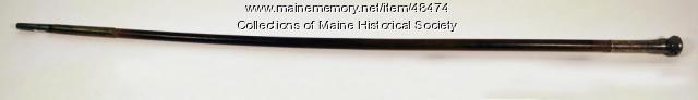 Rev. Thomas Smith cane, Portland, 1750
