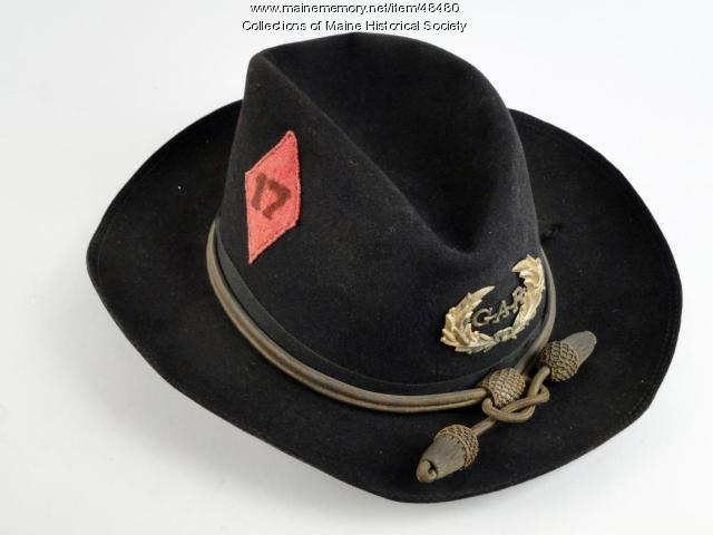 Verrill Grand Army of the Republic hat, ca. 1870