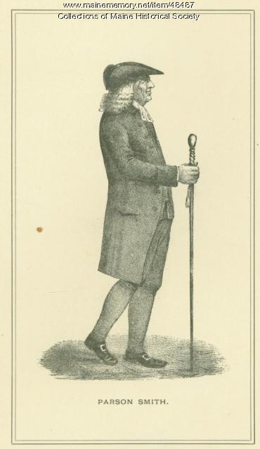 Parson Thomas Smith, Portland, ca. 1800