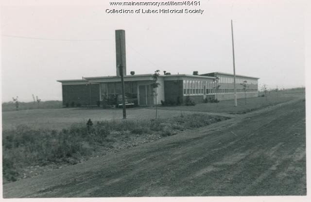Elementary school, Lubec, September 1953