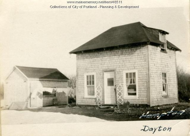 192 Dayton Street, Portland, 1924