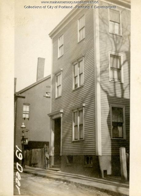 19 Deer Street, Portland, 1924