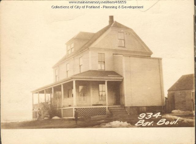 934 Baxter Boulevard, Portland, 1924