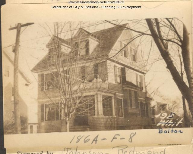 37 Bolton Street, Portland, 1924