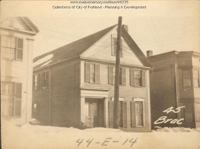 43 Brackett Street, Portland, 1924