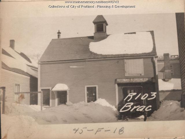 101-103 Brackett Street, Portland, 1924