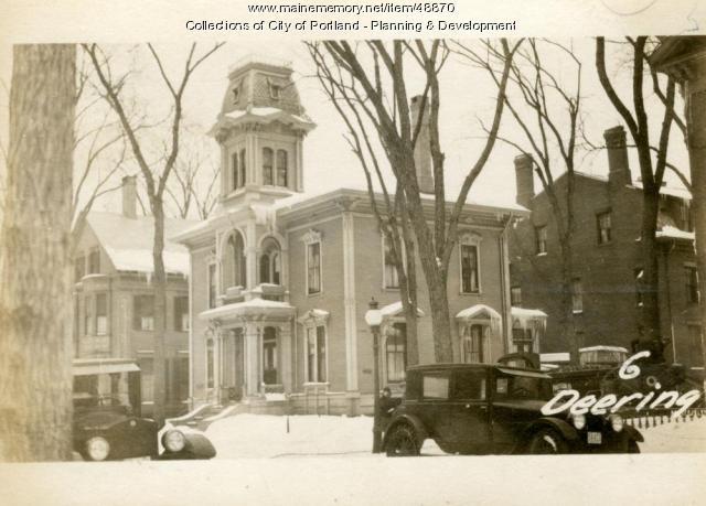 6 Deering Street, Portland, 1924