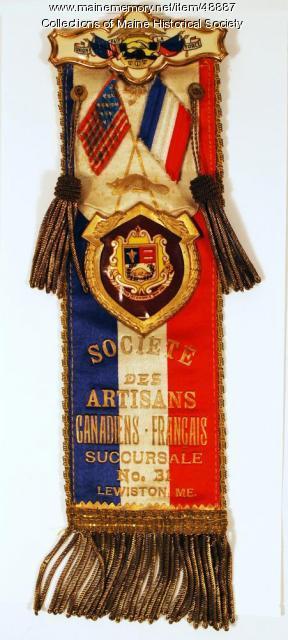 Societe des Artisans Canadiens-Francais, Lewiston, ca. 1900