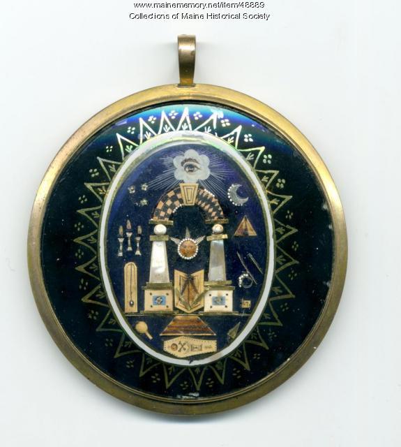 Masonic locket, ca. 1800