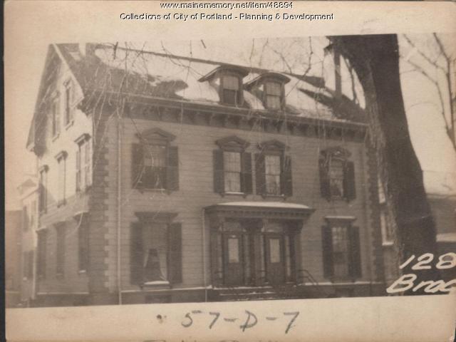 128-130 Brackett Street, Portland, 1924