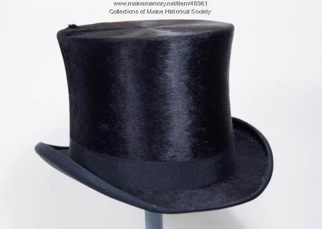 Harry Johnson opera hat, ca. 1890
