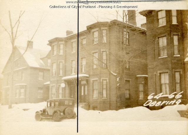 66 Deering Street, Portland, 1924