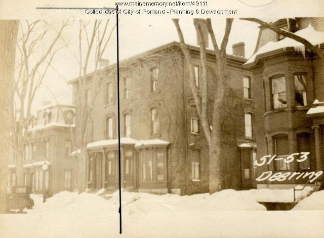 53 Deering Street, Portland, 1924