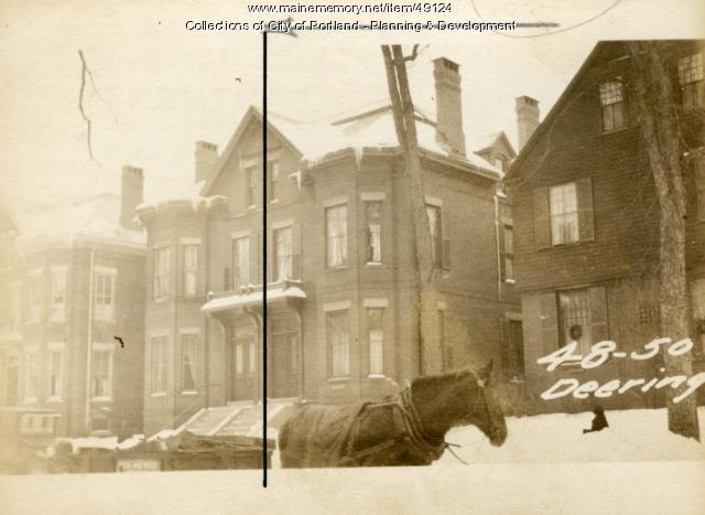 50 Deering Street, Portland, 1924