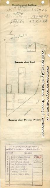 116-124 Deering Avenue, Portland, 1924