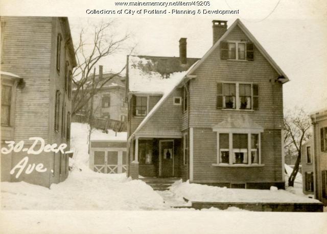 30 Deering Avenue, Portland, 1924