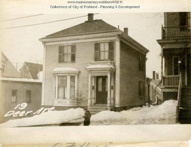 19 Deering Avenue, Portland, 1924