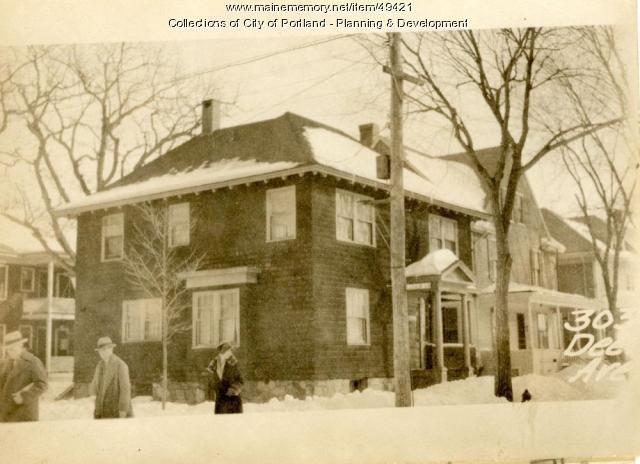 297 Deering Street, Portland, 1924