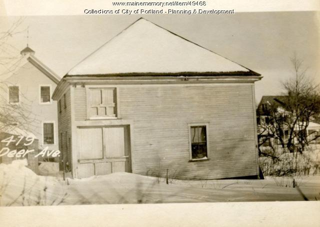 475 Deering Avenue, Portland, 1924