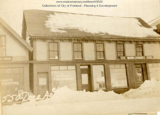 542-550 Deering Avenue, Portland, 1924