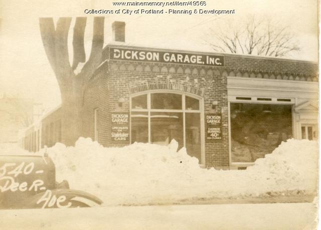 540 Deering Avenue, Portland, 1924