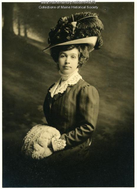 Unidentified woman, Sanford, ca. 1900