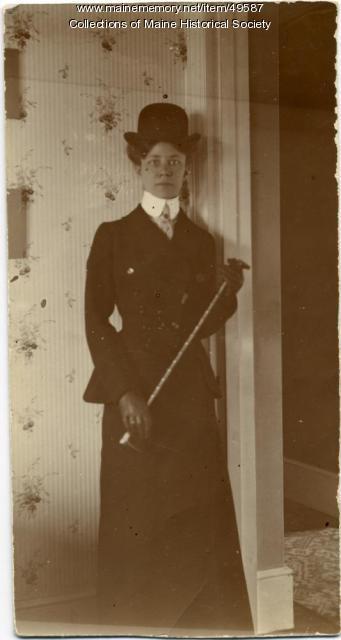 Ethel Bascom Jewett, London, 1904