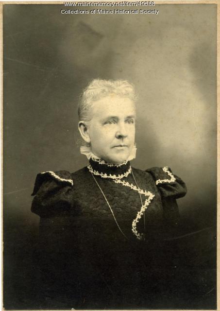 Adrianna E. Bentley Jewett, Norridgewock, ca. 1895