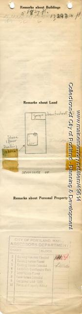 10-12 Devonshire Street, Portland, 1924
