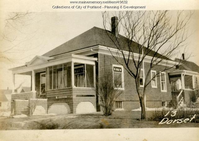 13 Dorset Street, Portland, 1924
