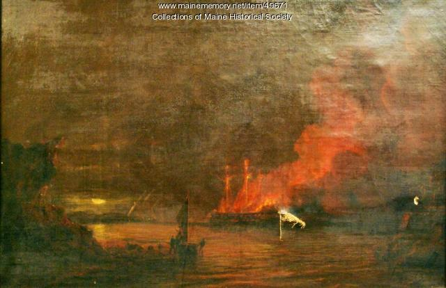 USS Philadelphia, Tripoli harbor, 1804