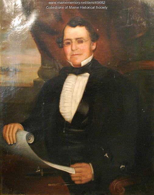 George Brazier, ca. 1855