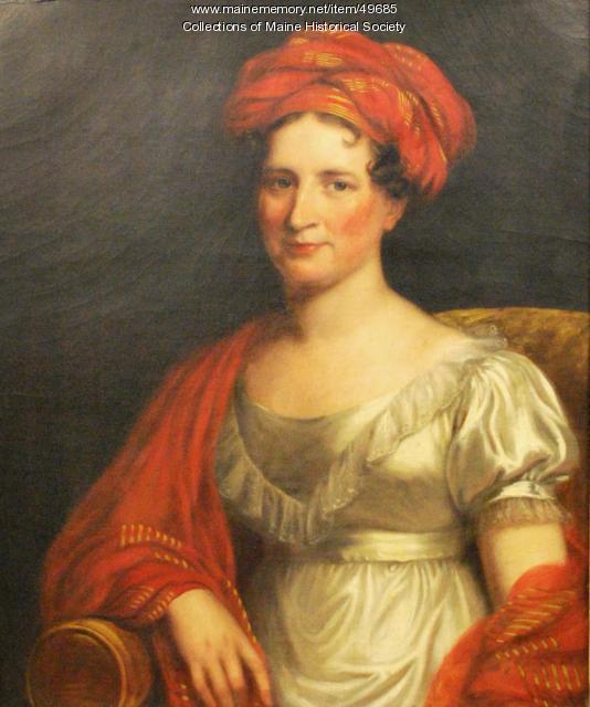 Julia Cascaline Dearborn Wingate, ca. 1825
