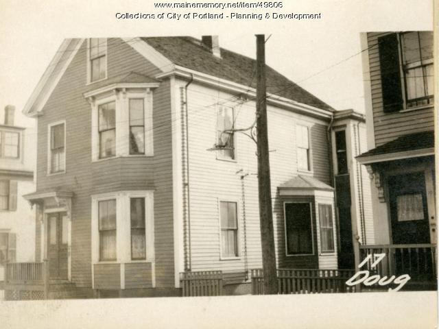 17-19 Douglass Street, Portland, 1924