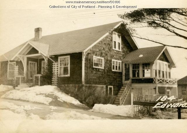 185 Edwards Street in 1924