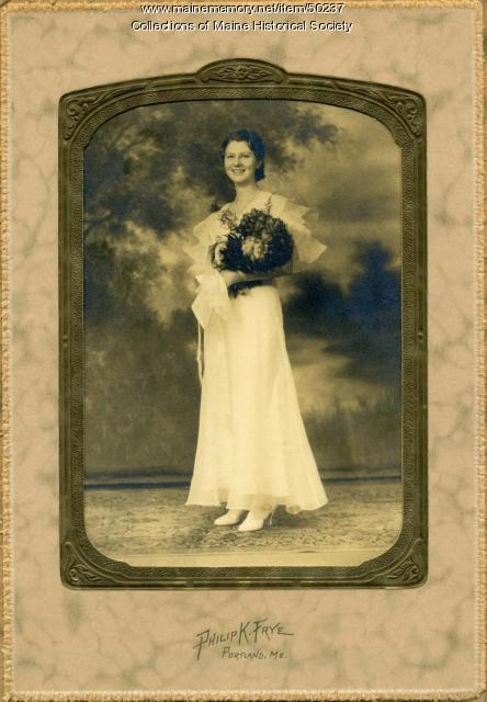 Marguerite Flint Blanchard, Cumberland Center, 1936