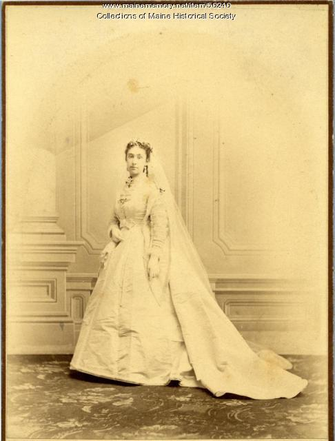 Mary Jane Catherine Abbott Throop, Portland, 1868