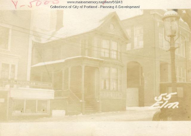 55 Elm Street, Portland, 1924