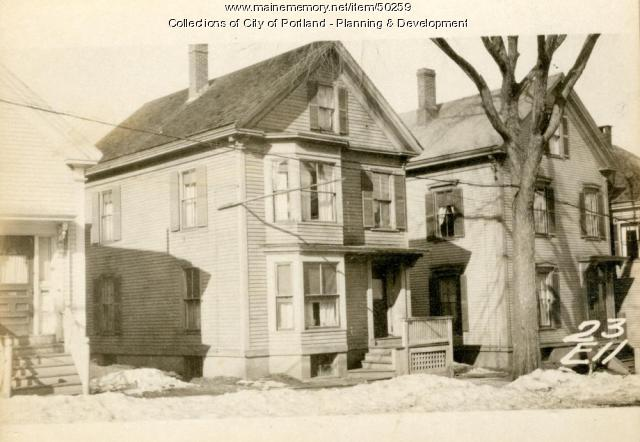 23 Ellsworth Street, Portland, 1924