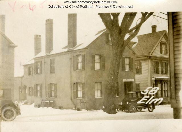 56 Elm Street, Portland, 1924
