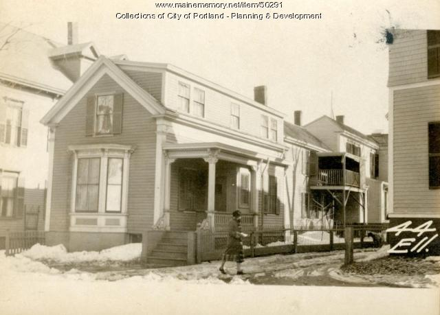 44 Ellsworth Street, Portland, 1924