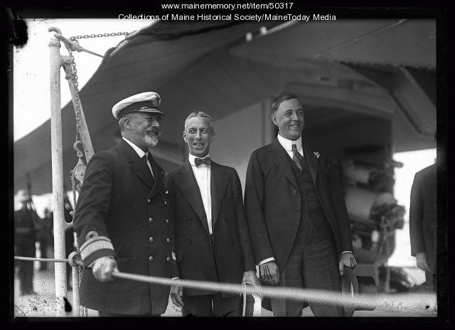 Allan F. Everett, Charles B. Clark and Carl E. Milliken, Portland Harbor, 1920