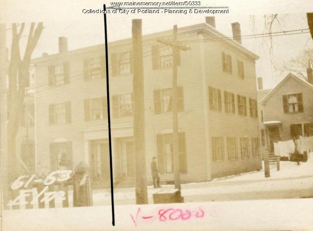 61 Elm Street, Portland, 1924