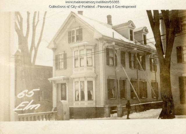 65 Elm Street, Portland, 1924