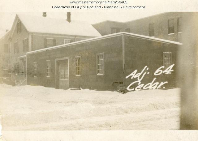 66-70 Cedar Street, Portland, 1924